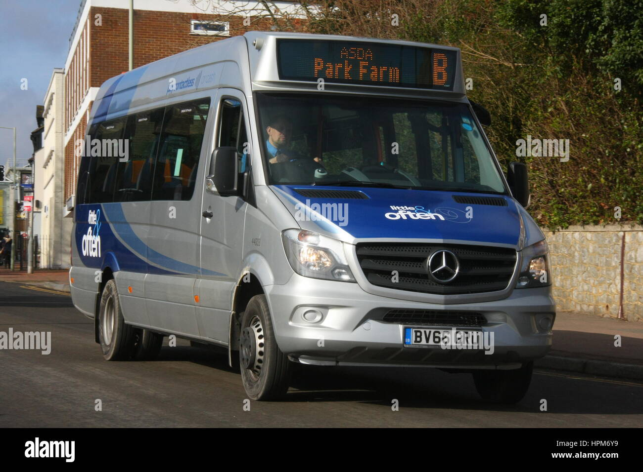 Stagecoach south east new little often mercedes benz for Mercedes benz oklahoma city service