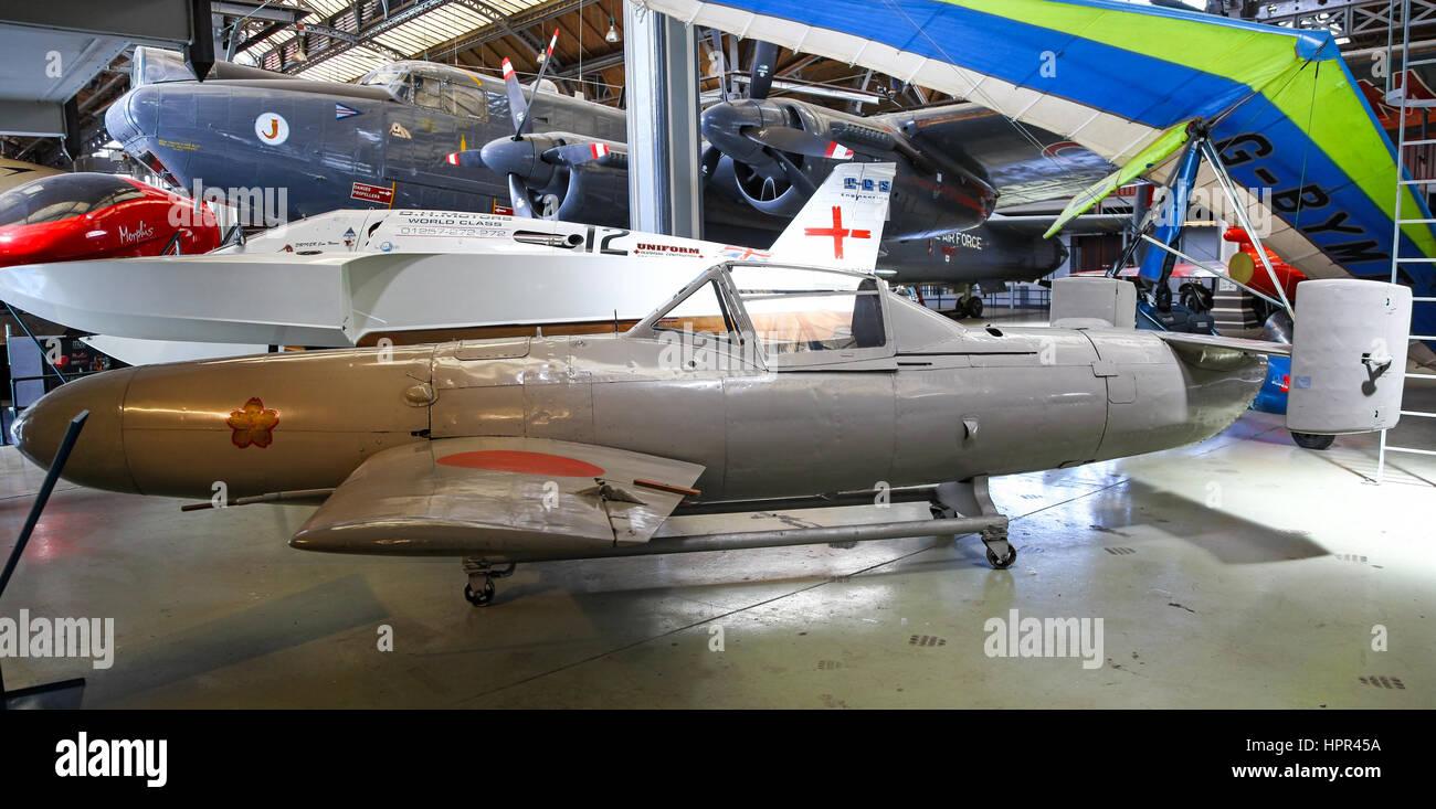 833rd aero squadron - The Yokosuka Mxy 7 Ohka Cherry Blossom Was A Purpose Built