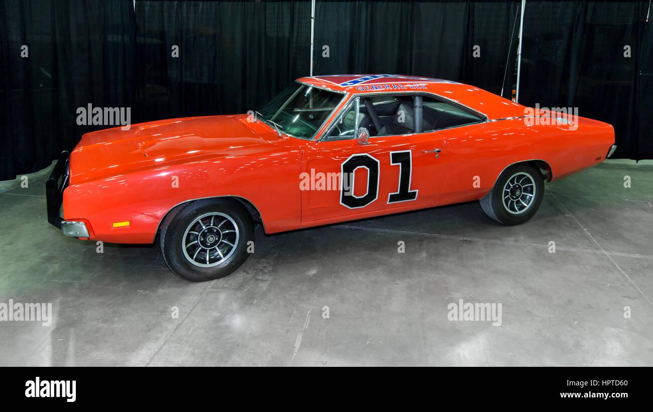 Detroit, USA. 24th Feb, 2017. TV series Dukes of Hazzard ...  The Dukes Of Hazzard 2017 Car