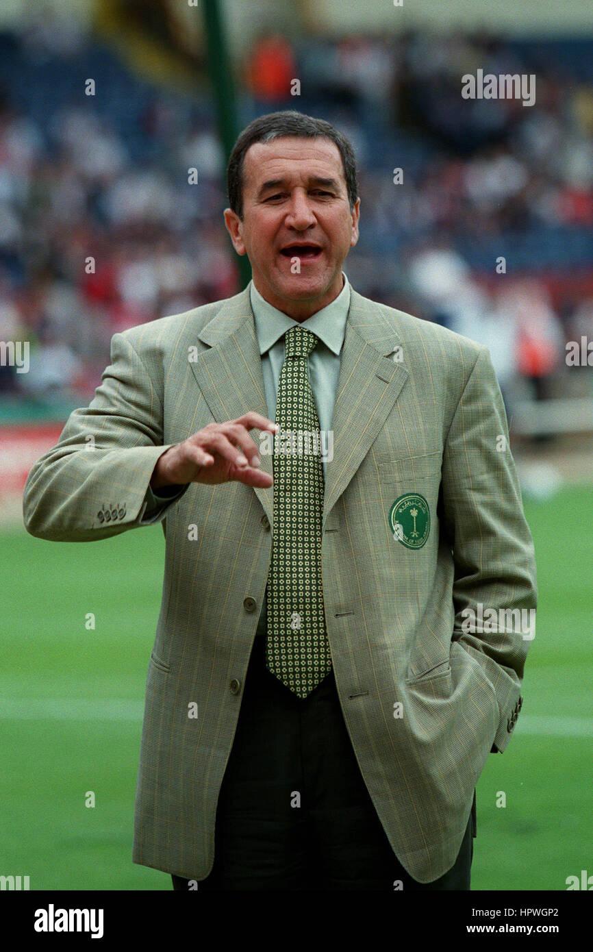 CARLOS ALBERTO PARREIRA SAUDI ARABIA MANAGER 25 May 1998 Stock