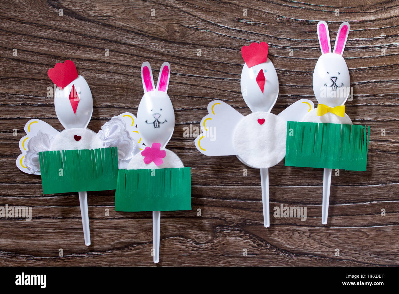 Create an easter gift baby toy rooster and the easter bunny made create an easter gift baby toy rooster and the easter bunny made by hand negle Choice Image