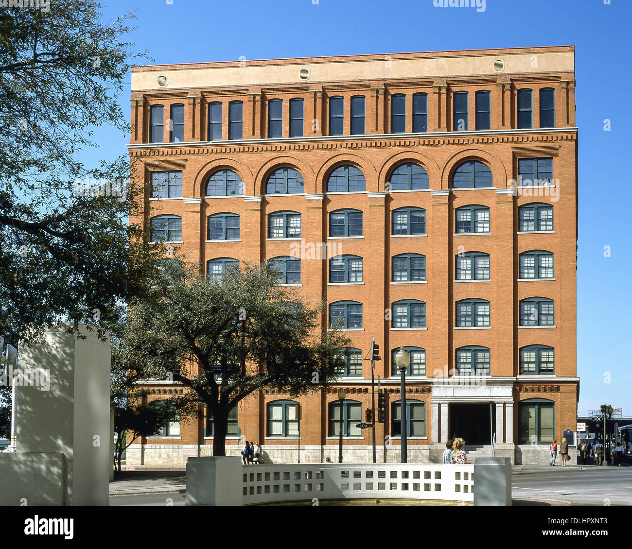 The Sixth Floor Museum At Dealey Plaza (President John F. Kennedy  Assassination), Elm Street, Dallas, Texas, United States Of America