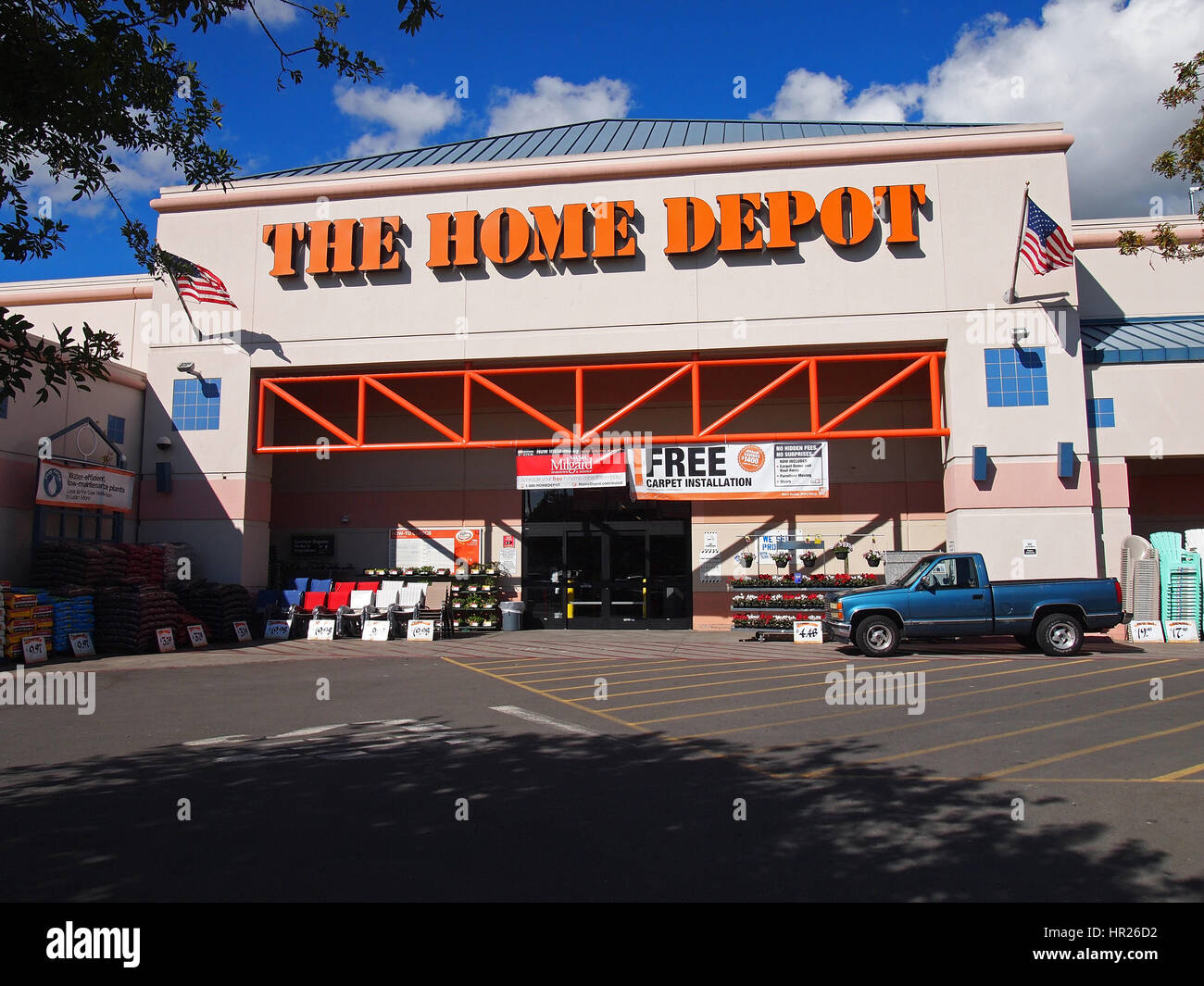 home depot jobs california. a home depot store is pictured in daly