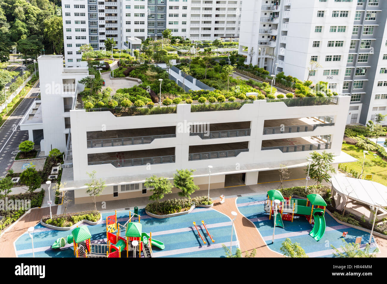 Rooftop gardens feature in new public HDP apartments in Singapore ...