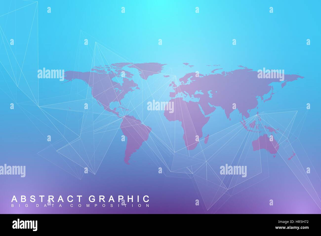 Political world map with global technology networking concept political world map with global technology networking concept digital data visualization lines plexus big data background communication gumiabroncs Gallery