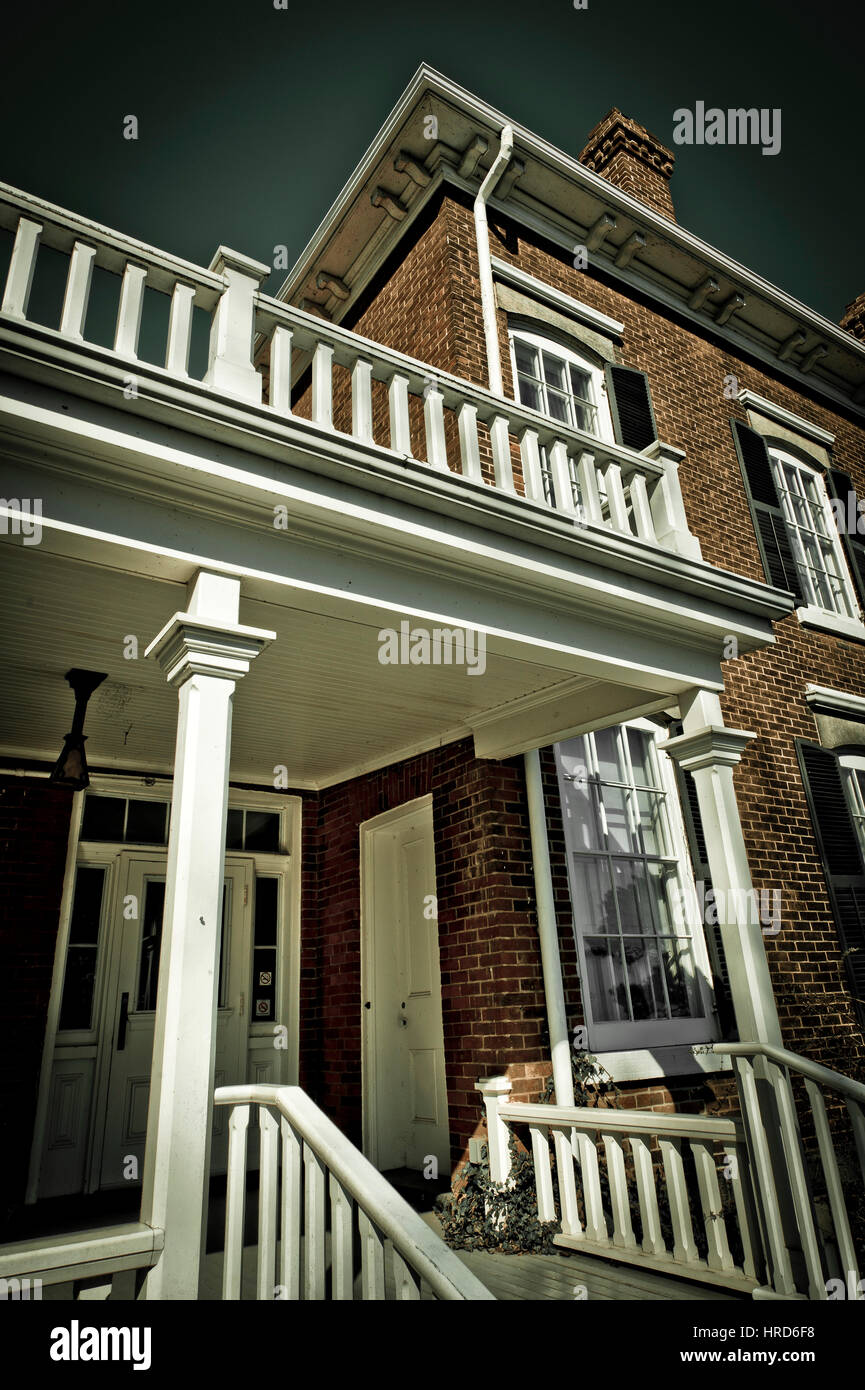 Victorian style house entrance Stock Photo, Royalty Free Image ...