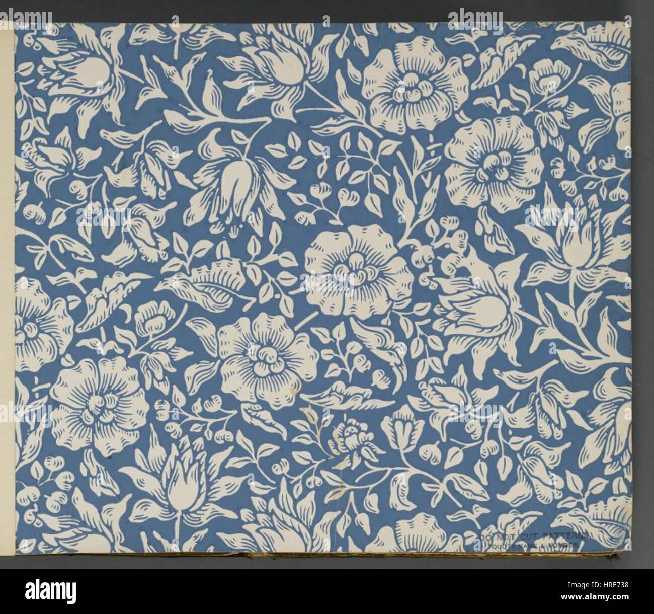 Brooklyn Museum - Wallpaper Sample Book 2 - William Morris and ...