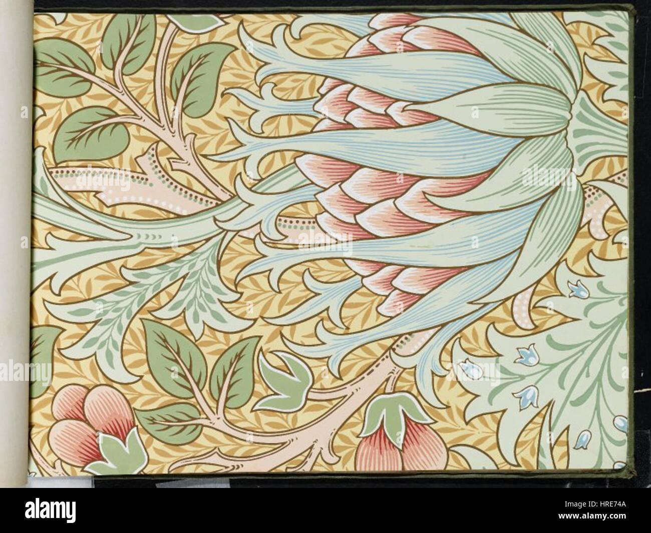 Brooklyn Museum - Wallpaper Sample Book 1 - William Morris and ...
