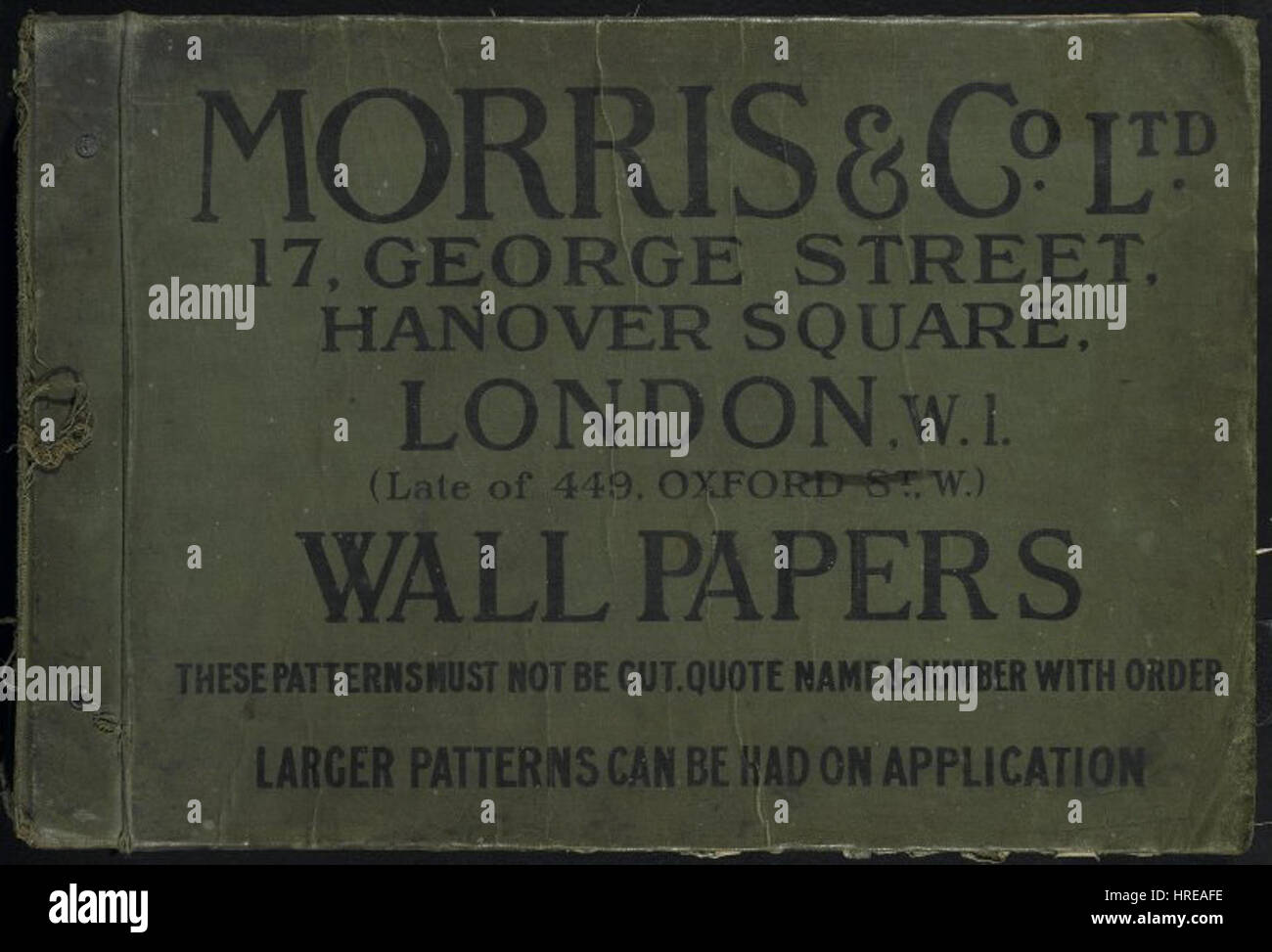 Brooklyn Museum - Wallpaper Sample Book - William Morris and ...