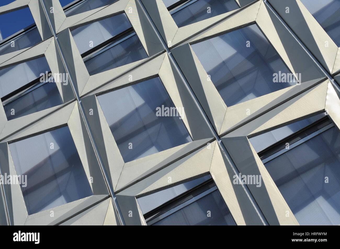 Modern Architecture Pattern modern architecture pattern of a stadium stock photo, royalty free