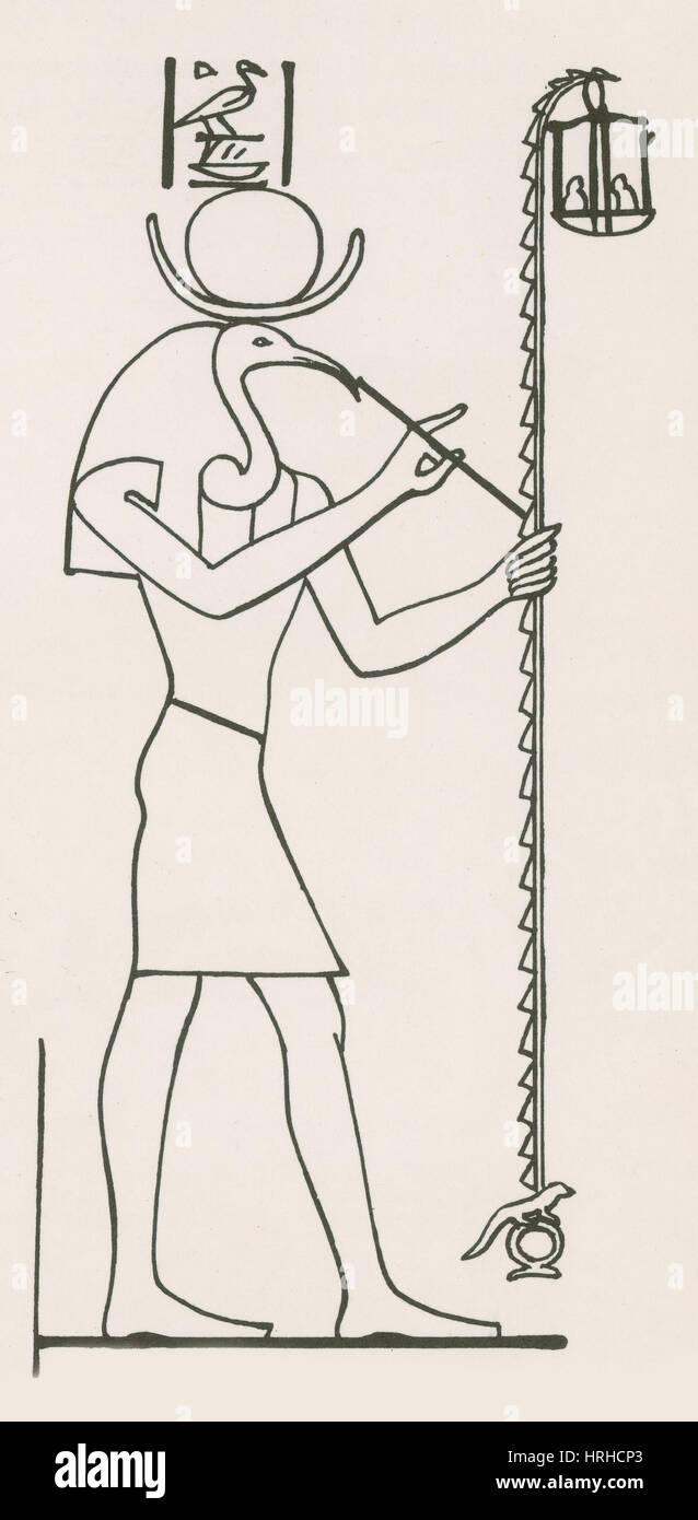 Thoth egyptian god of wisdom stock photo 134992875 alamy thoth egyptian god of wisdom biocorpaavc Gallery