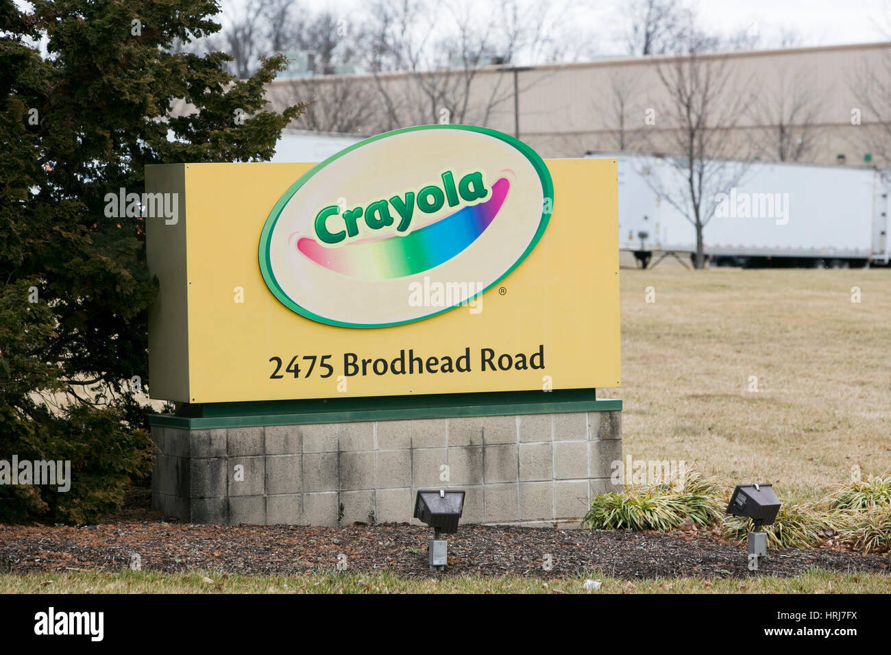 a logo sign outside of a facility occupied by crayola in bethlehem pennsylvania on february 26 2017 - Crayola Sign