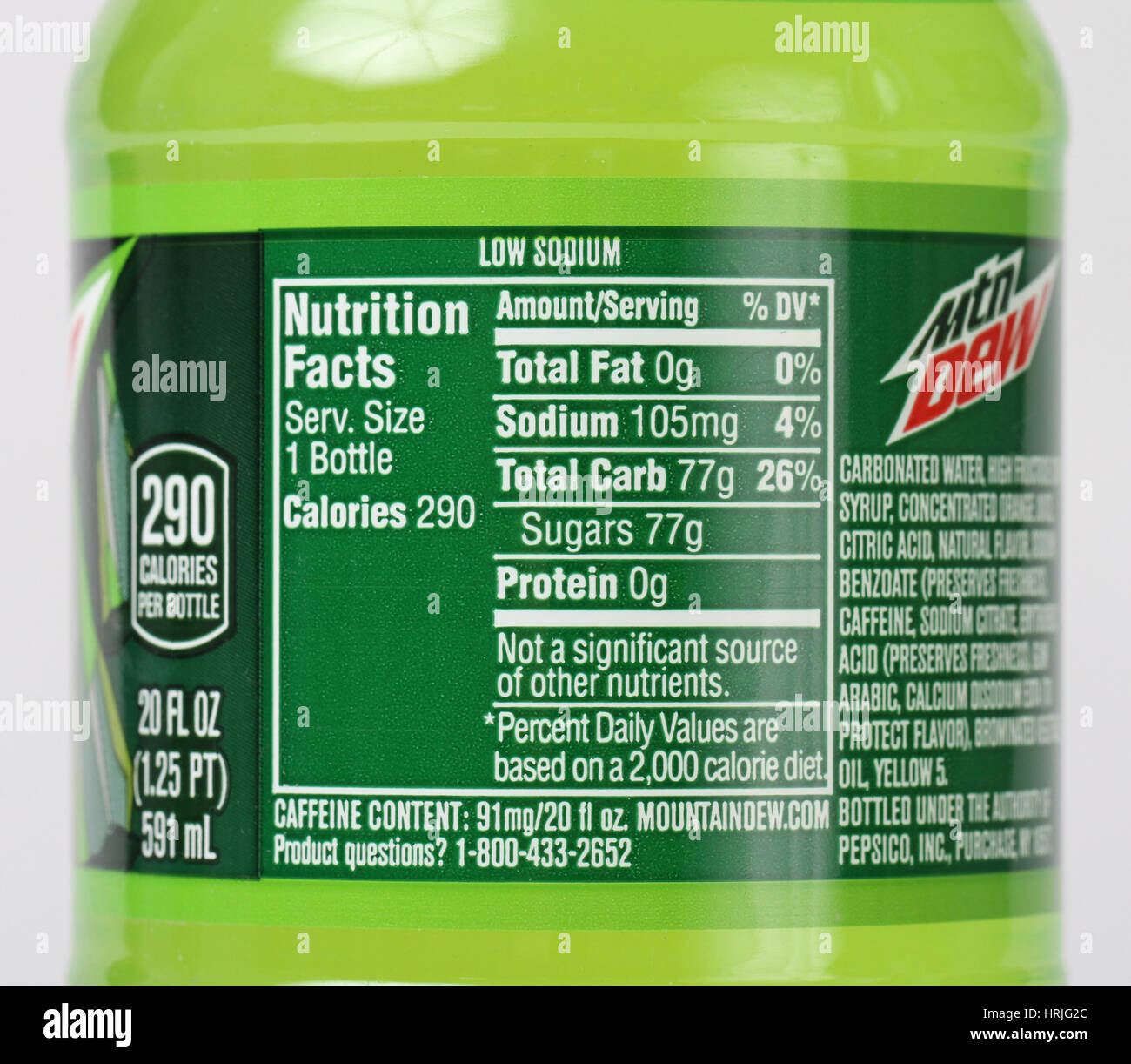 nutrition-facts-for-soda-pop-soft-drink-HRJG2C.jpg