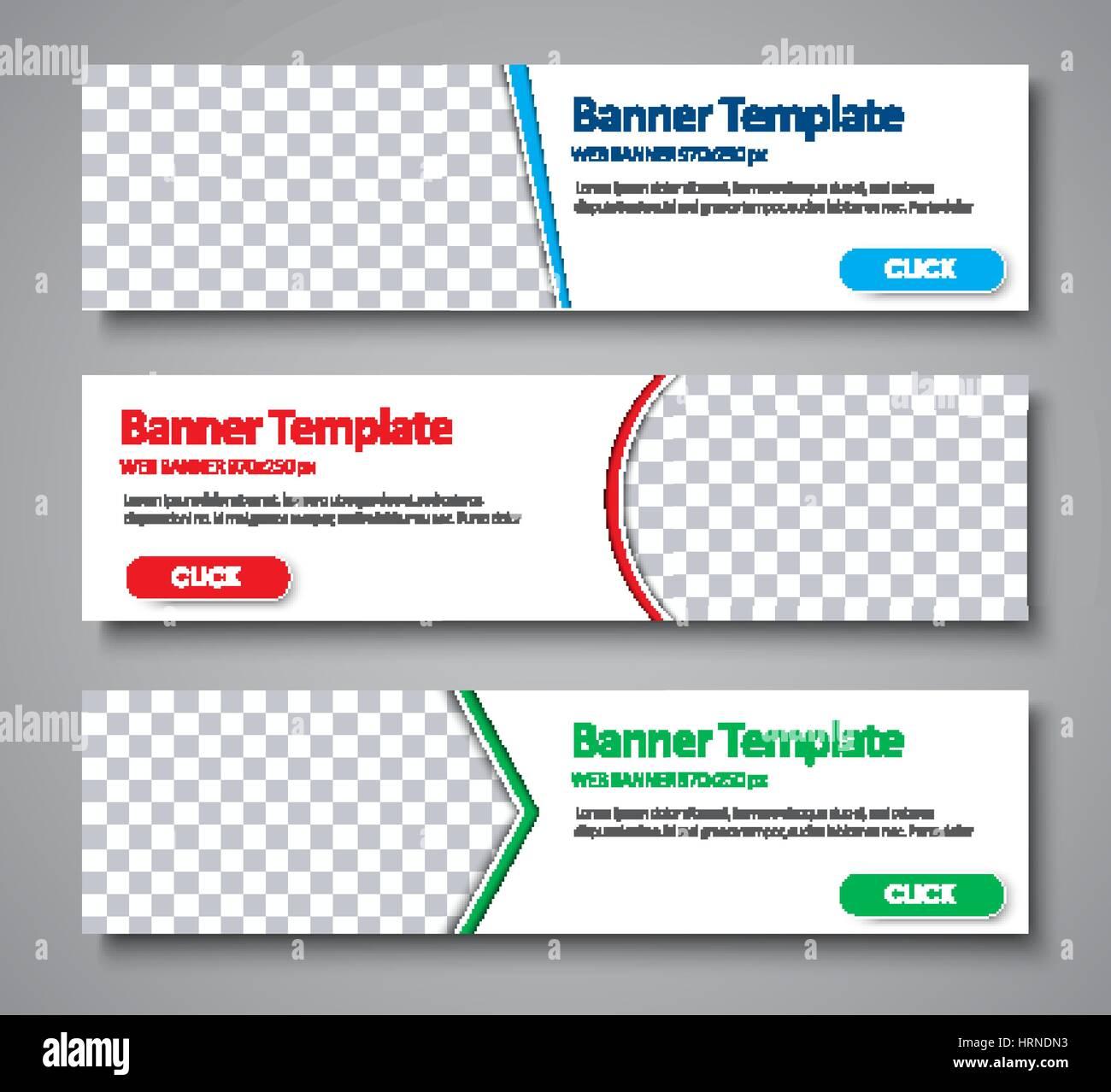 web banner template
