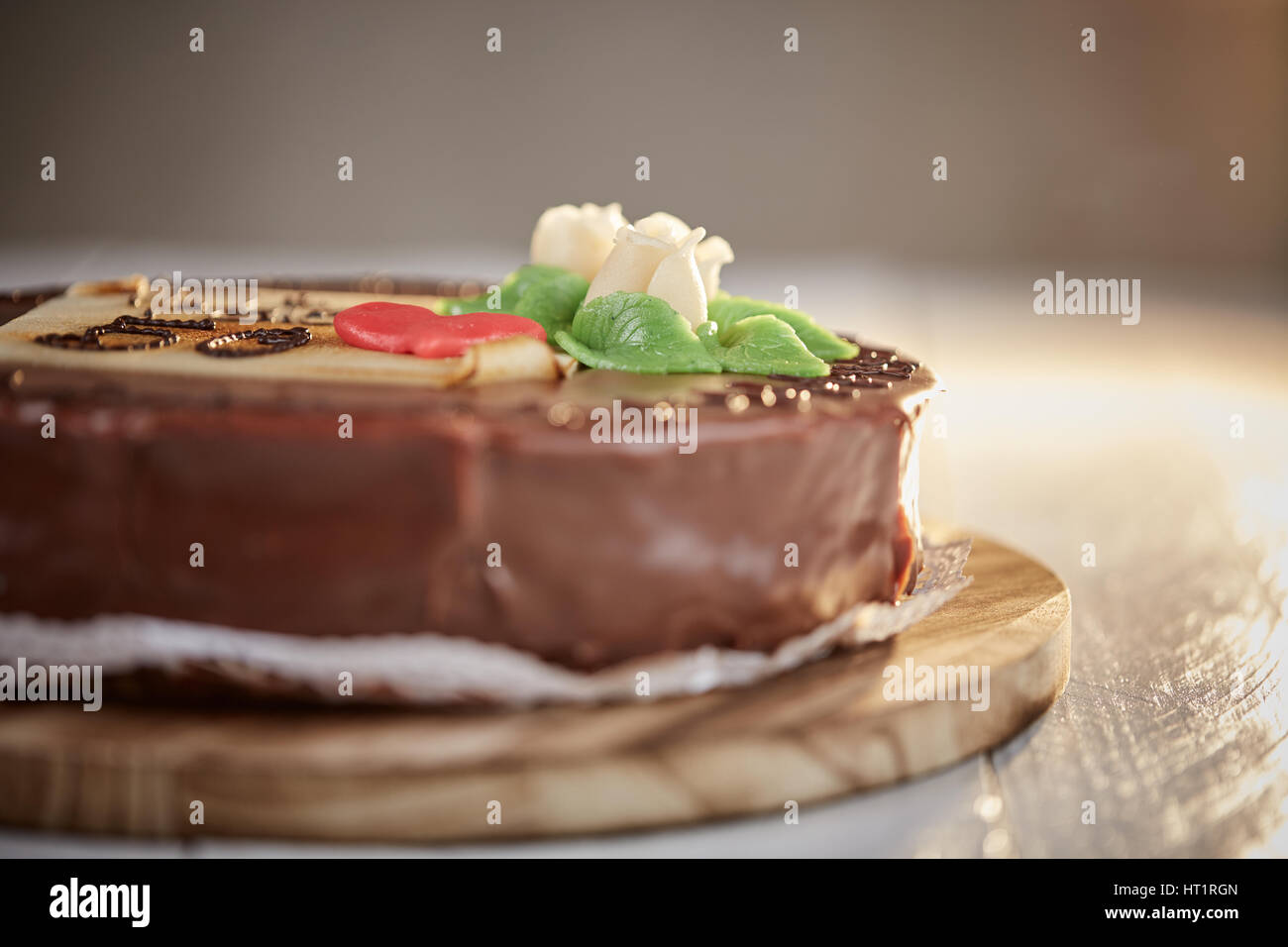 Sacher torte marzipan
