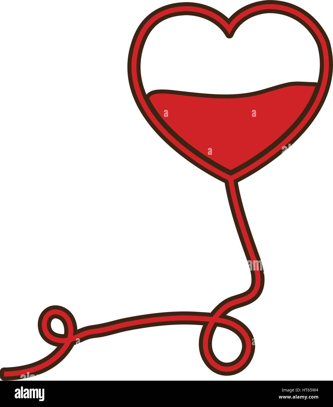 Blood donation heart symbol stock vector art illustration blood donation heart symbol buycottarizona
