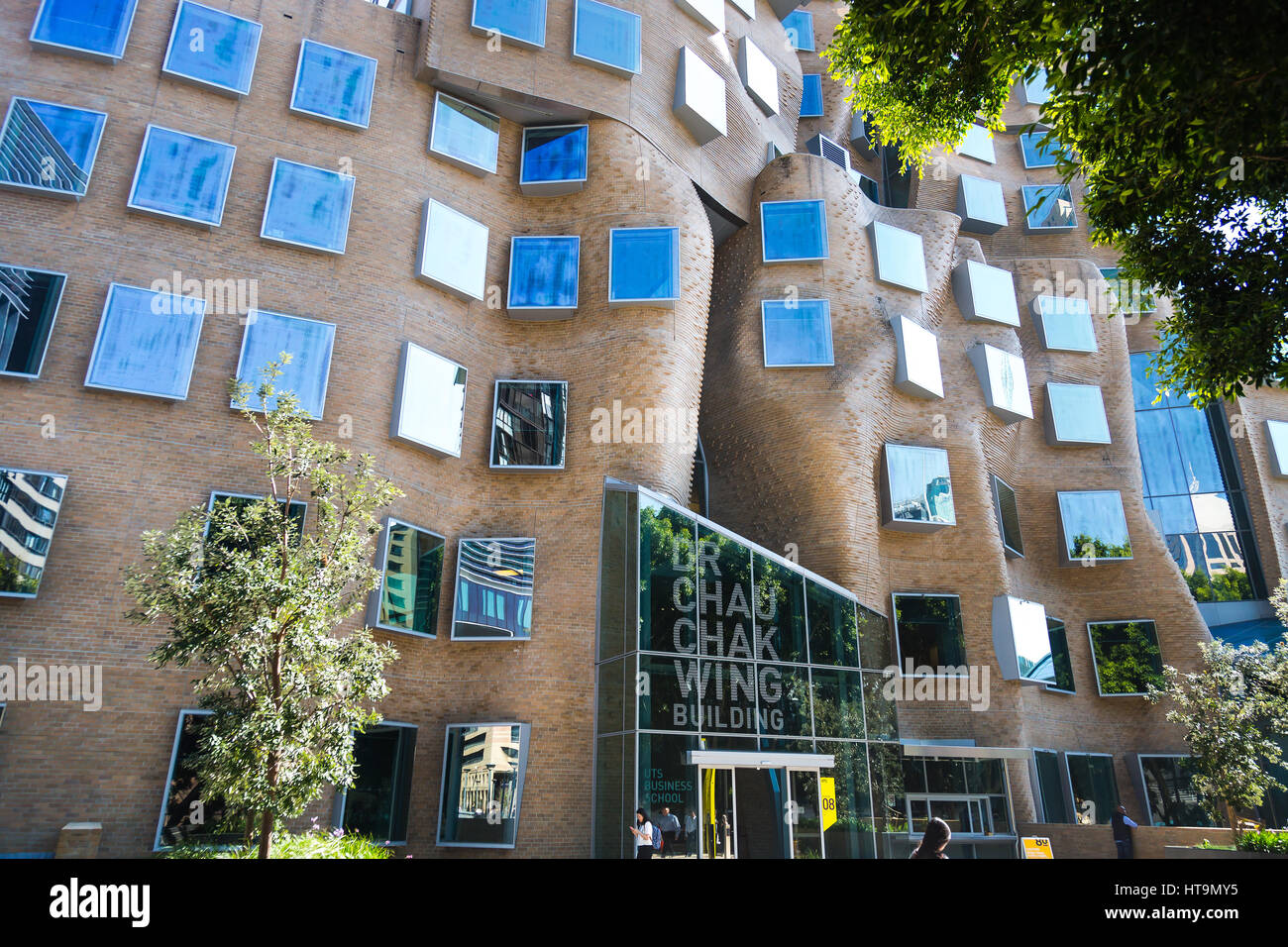 The first building in Australia designed by one of the worlds most  influential architects Frank Gehry