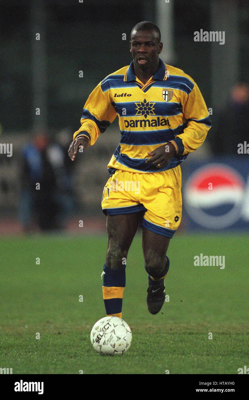 LILIAN THURAM PARMA FC 07 February 1999 Stock Royalty Free