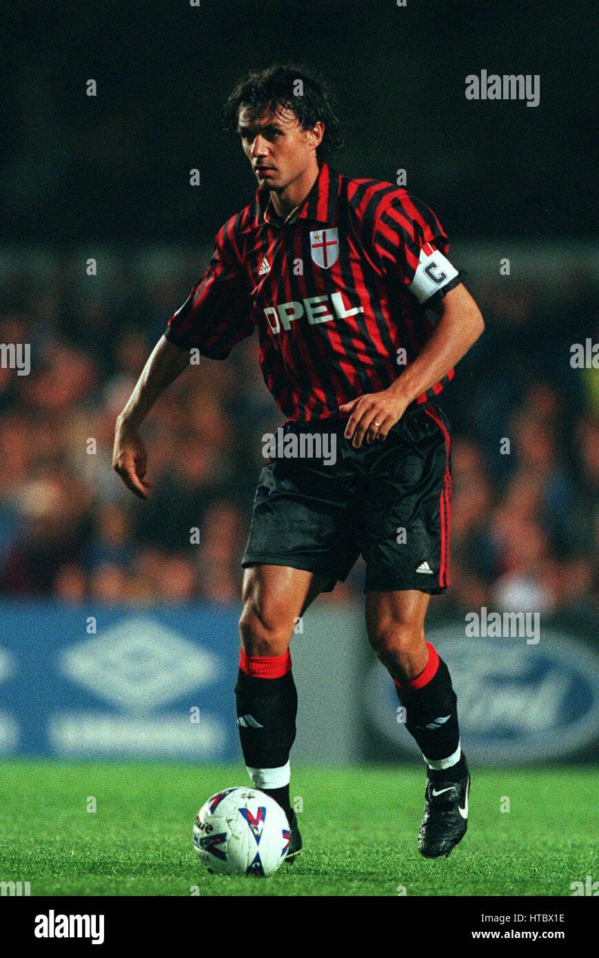 PAOLO MALDINI AC MILAN 19 September 1999 Stock Royalty Free