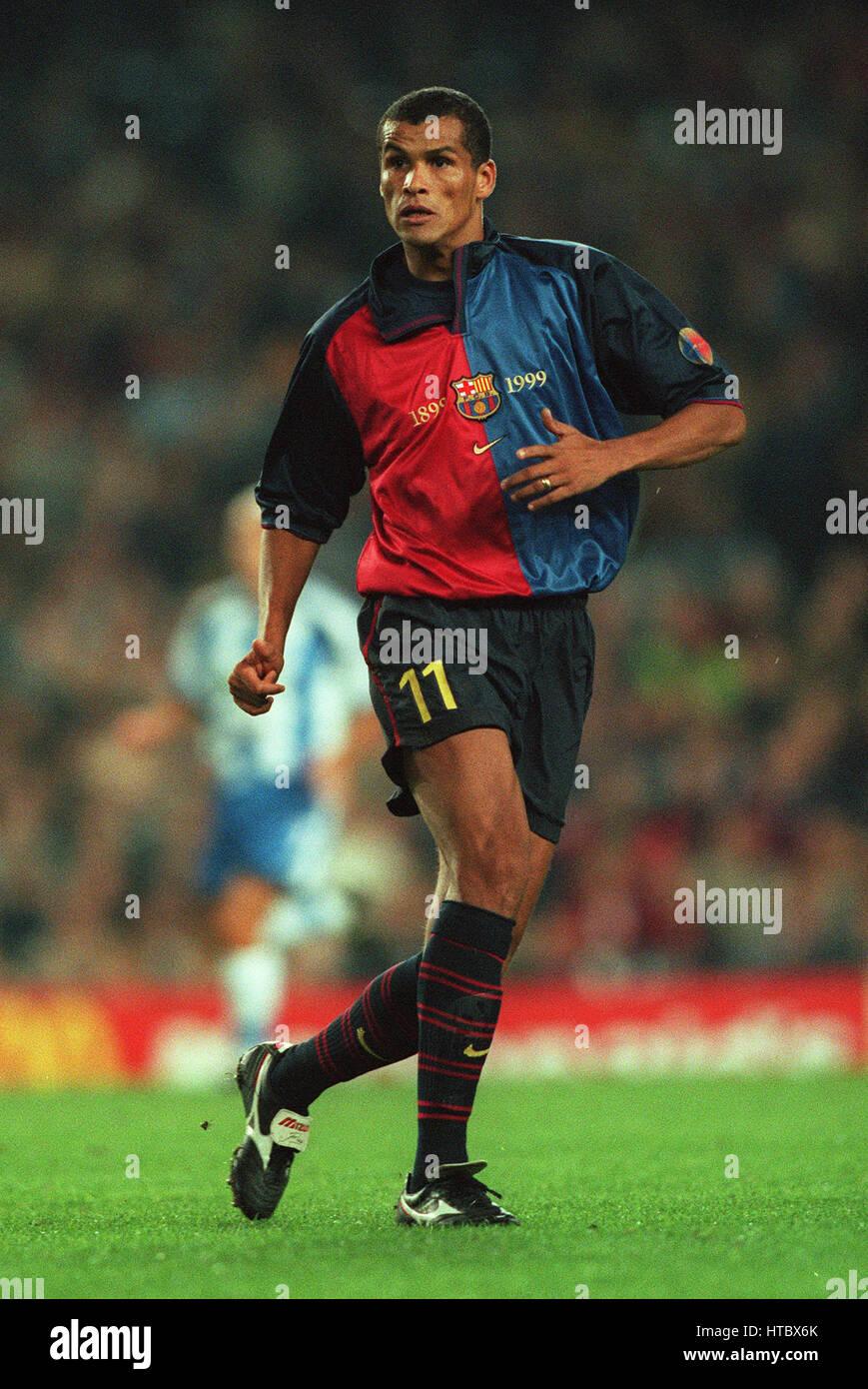 RIVALDO FC BARCELONA 07 November 1999 Stock Royalty Free