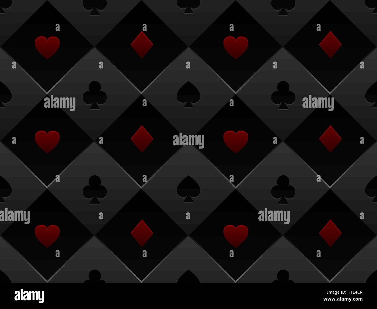 Poker table background - Black And Red Seamless Pattern Fabric Poker Table Minimalistic Casino Vector 3d Background With Texture
