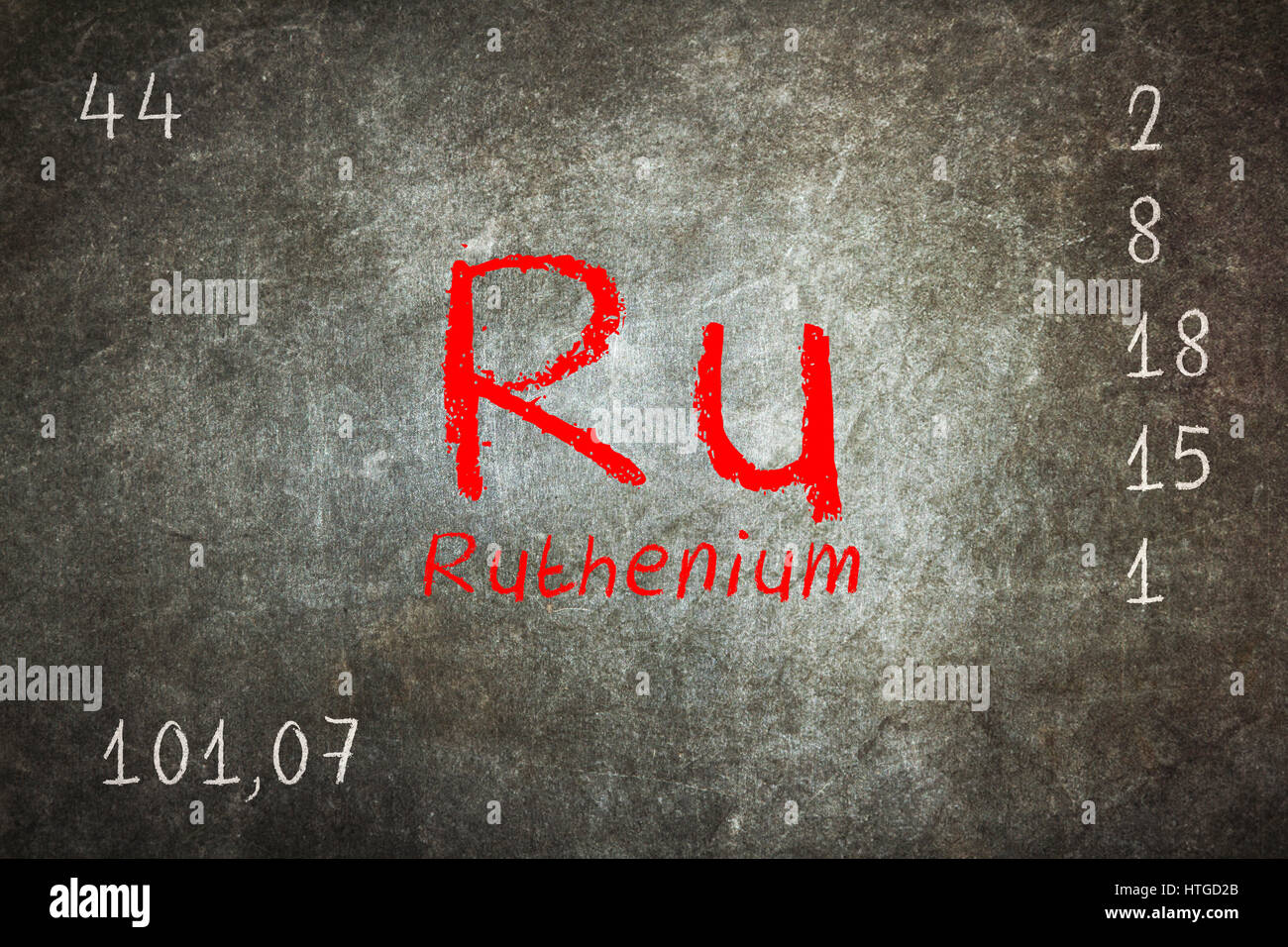 Isolated blackboard with periodic table ruthenium chemistry isolated blackboard with periodic table ruthenium chemistry gamestrikefo Choice Image