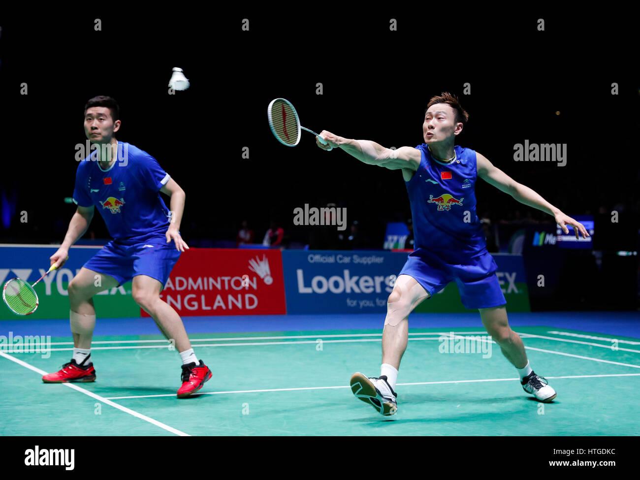 Birmingham 11th Mar 2017 Liu Cheng Zhang Nan R of China