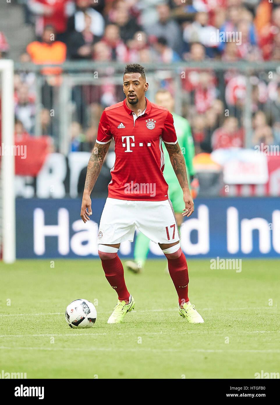 Munich Germany 11th Mar 2017 Jerome BOATENG FCB 17 drives