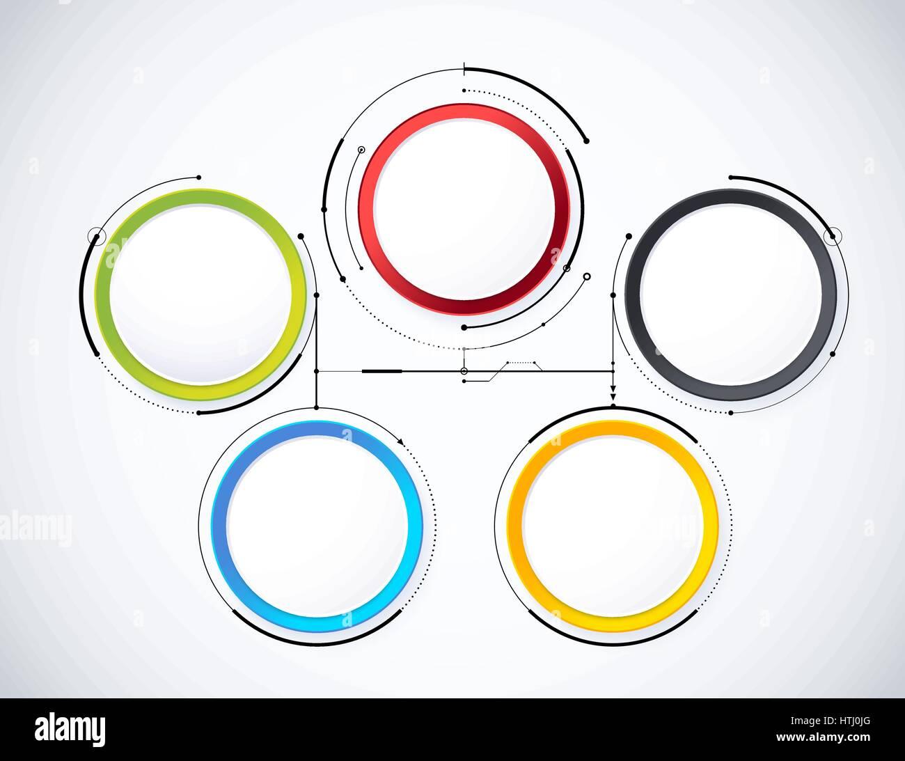 Digital diagram style diagram and flow chart of technology concept diagram and flow chart of technology concept presentation vector illustration nvjuhfo Choice Image