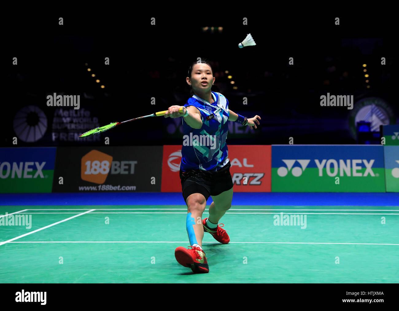 Chinese Taipei s Tai Tzu Ying against Thailand s Ratchanok Intanon