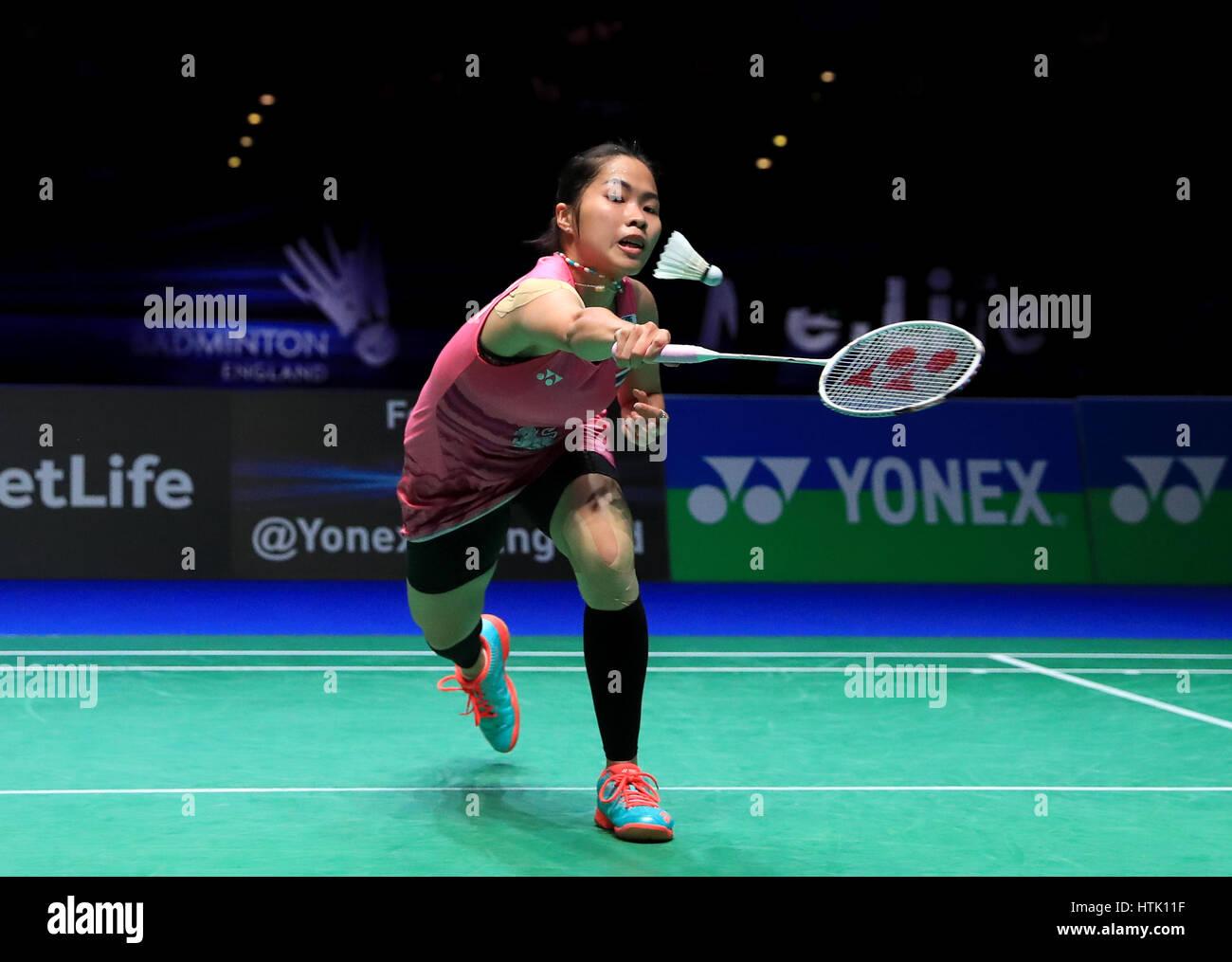 Thailand s Ratchanok Intanon against Chinese Taipei s Tai Tzu Ying