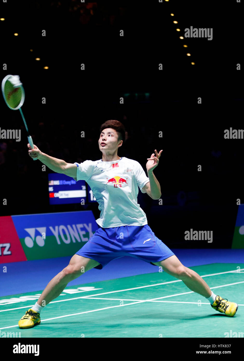 Birmingham 12th Mar 2017 Shi Yuqi of China petes during the