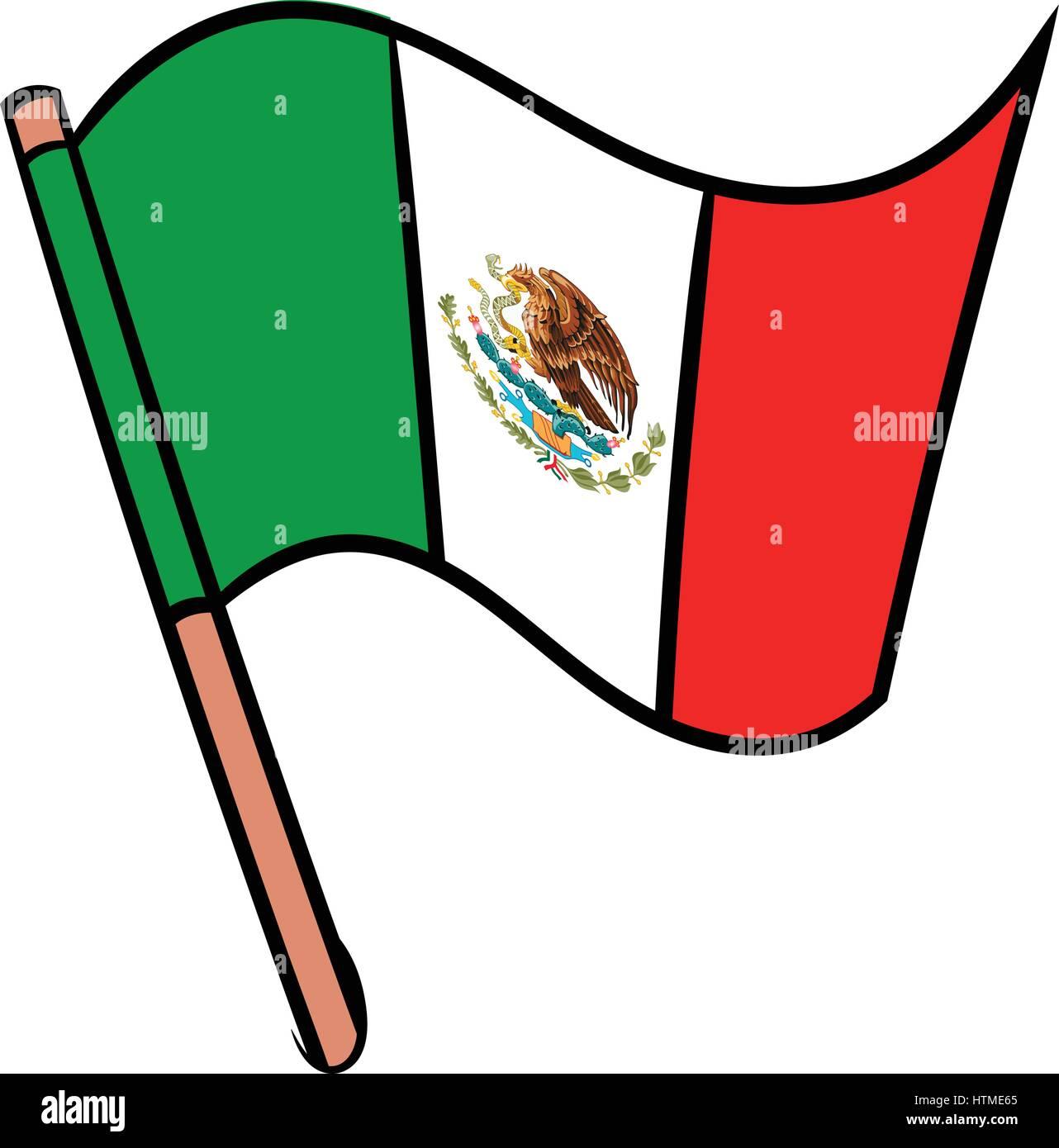 Ungewöhnlich Mexiko Färbende Flagge Fotos - Malvorlagen Von Tieren ...