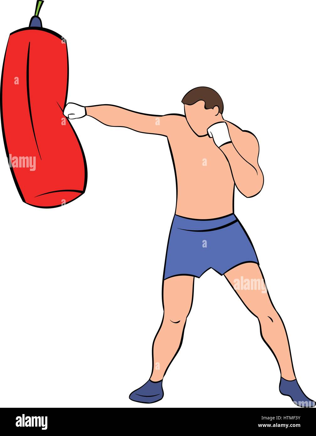 how to hit a punching bag