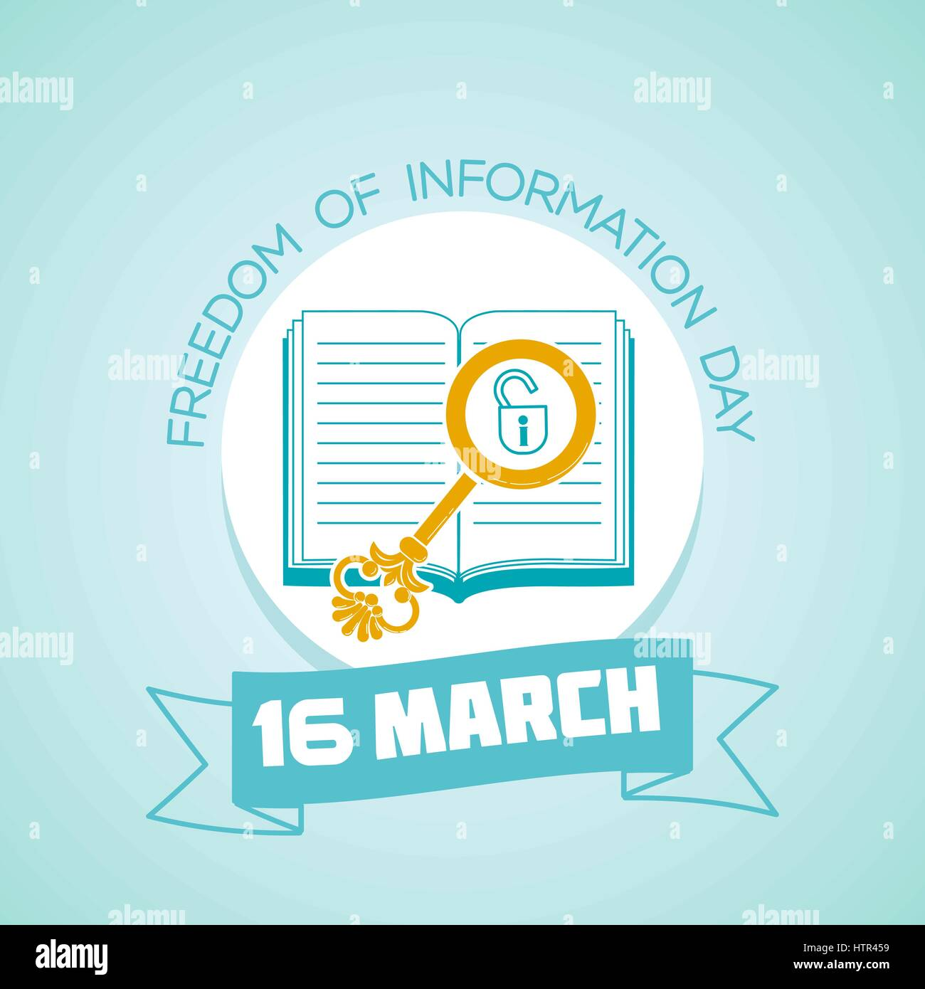Calendar for each day on march 16 greeting card holiday freedom calendar for each day on march 16 greeting card holiday freedom of information day icon in the linear style kristyandbryce Images
