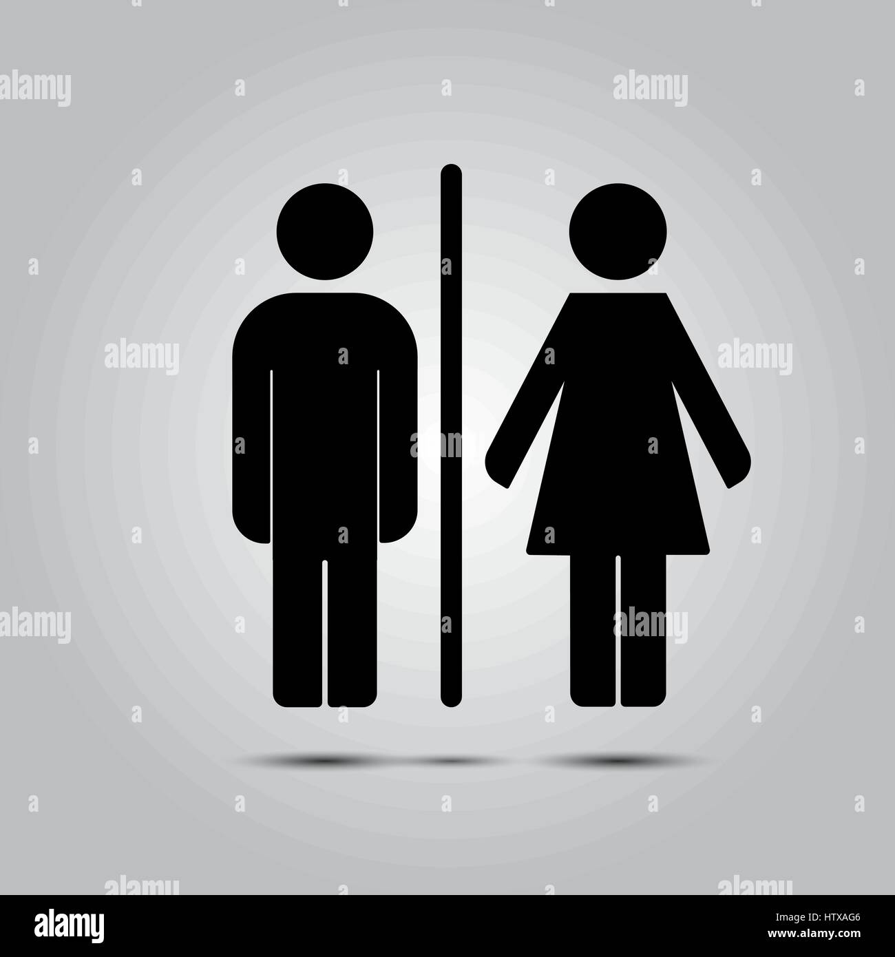 WC toilet icon vector illustration isolated on grey background    Stock  Image. Toilet Vector Vectors Stock Photos   Toilet Vector Vectors Stock