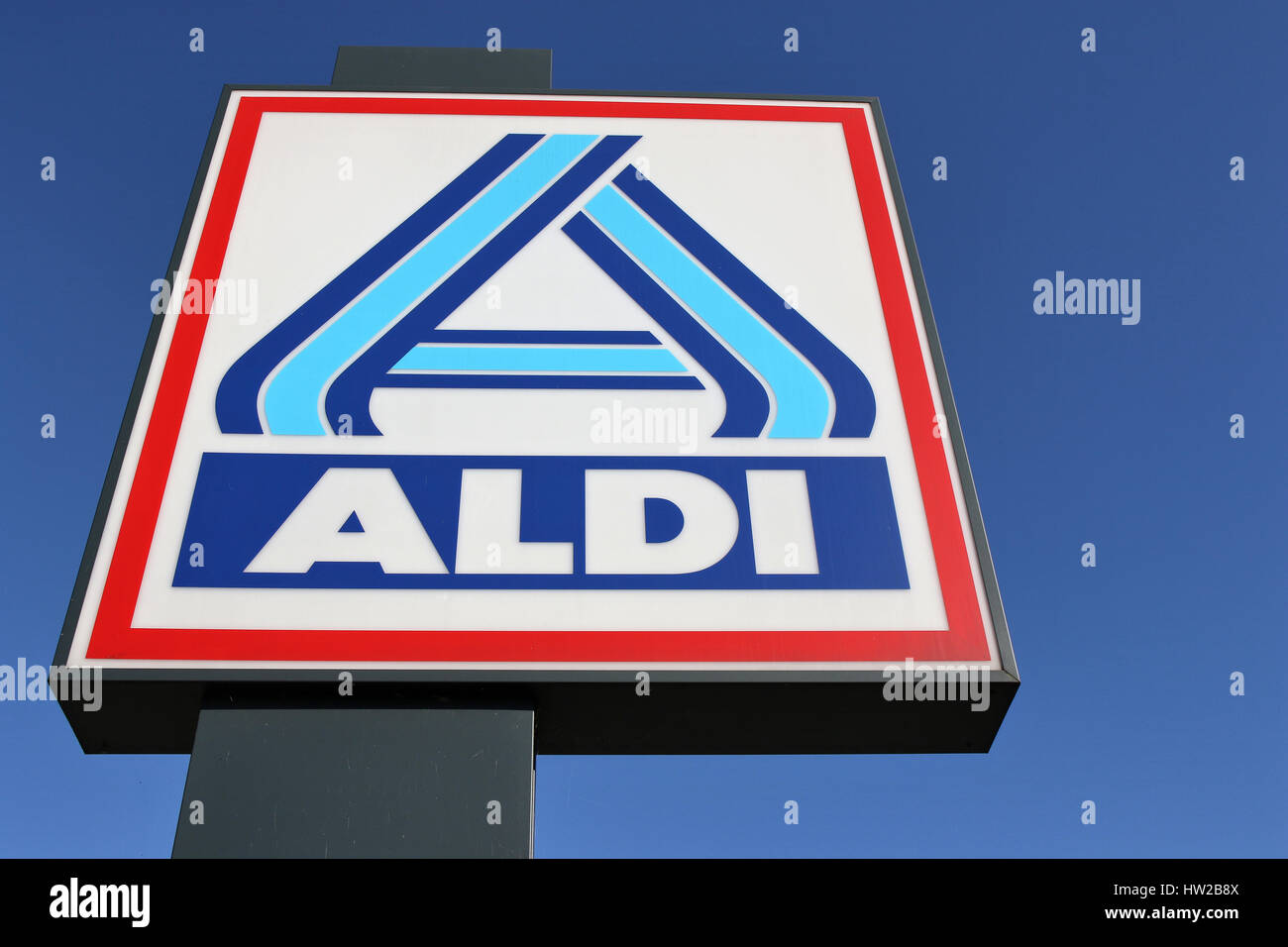 Aldi nord stock photos aldi nord stock images alamy aldi sign north division against blue sky aldi is a leading global discount biocorpaavc