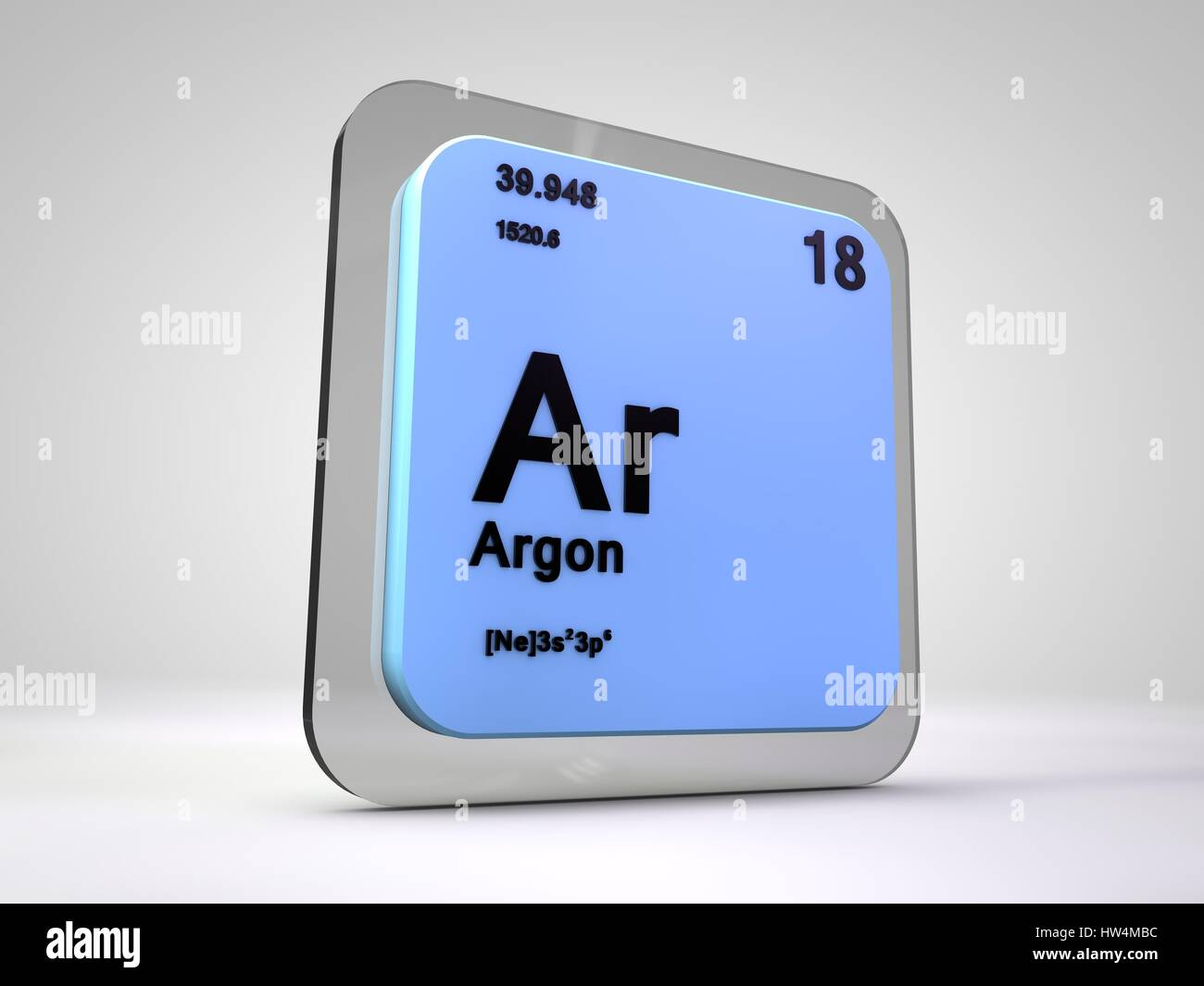 Argon ar chemical element periodic table 3d render stock photo argon ar chemical element periodic table 3d render gamestrikefo Choice Image