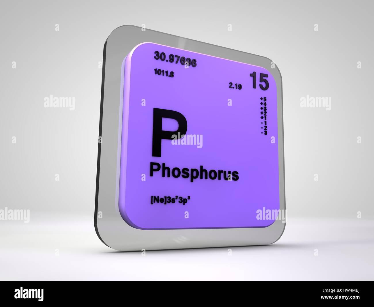 Periodic table element phosphorus stock line graph maker phosphorus p chemical element periodic table 3d render stock phosphorus p chemical element periodic table 3d gamestrikefo Gallery