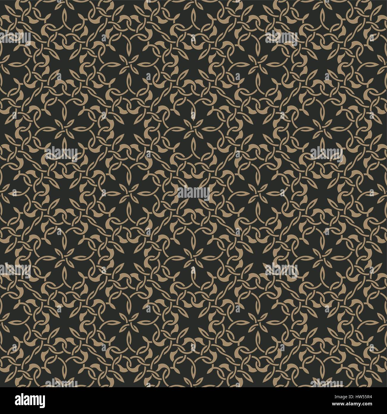 Seamless pattern in arabic style. Abstract background