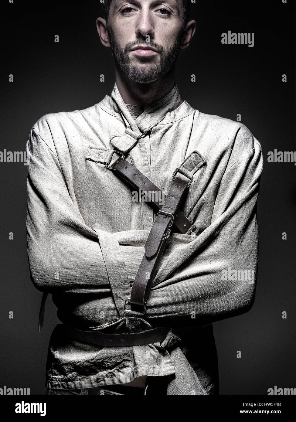 straightjacket Stock Photo, Royalty Free Image: 135960619 - Alamy