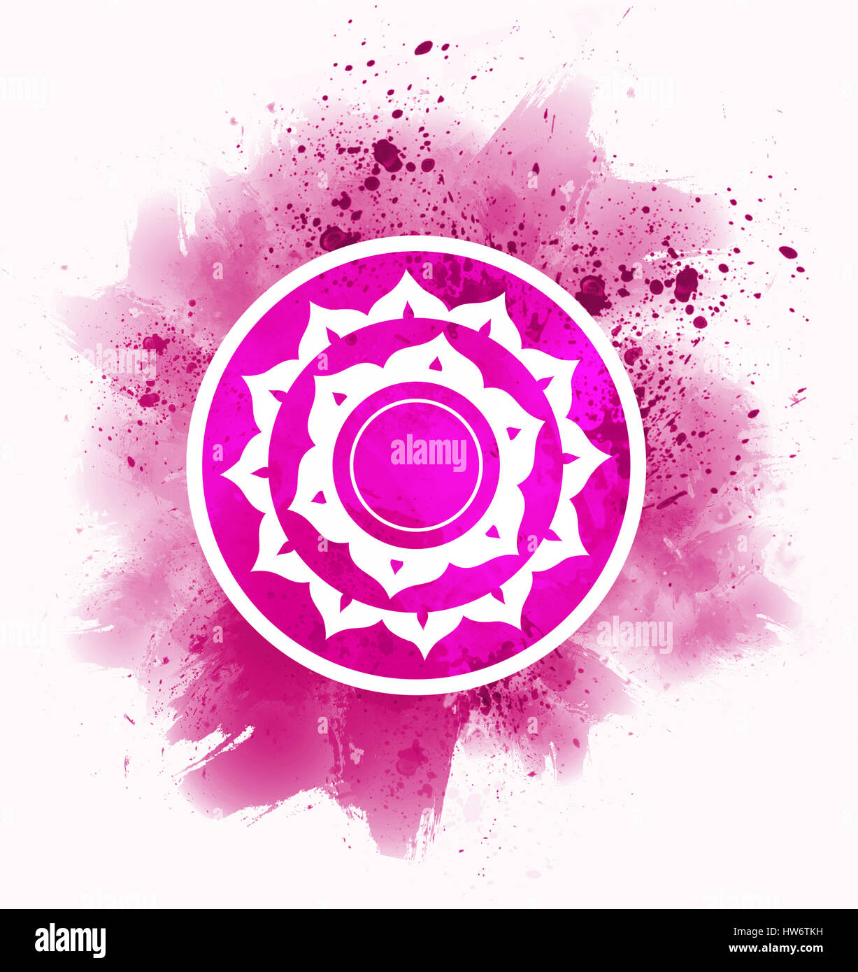 Sahasrara chakra symbol stock photo 135990053 alamy sahasrara chakra symbol buycottarizona Image collections