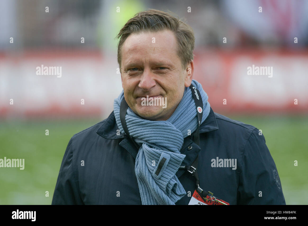 Heldt Hamburg hamburg germany 18th mar 2017 hanover s sports director horst