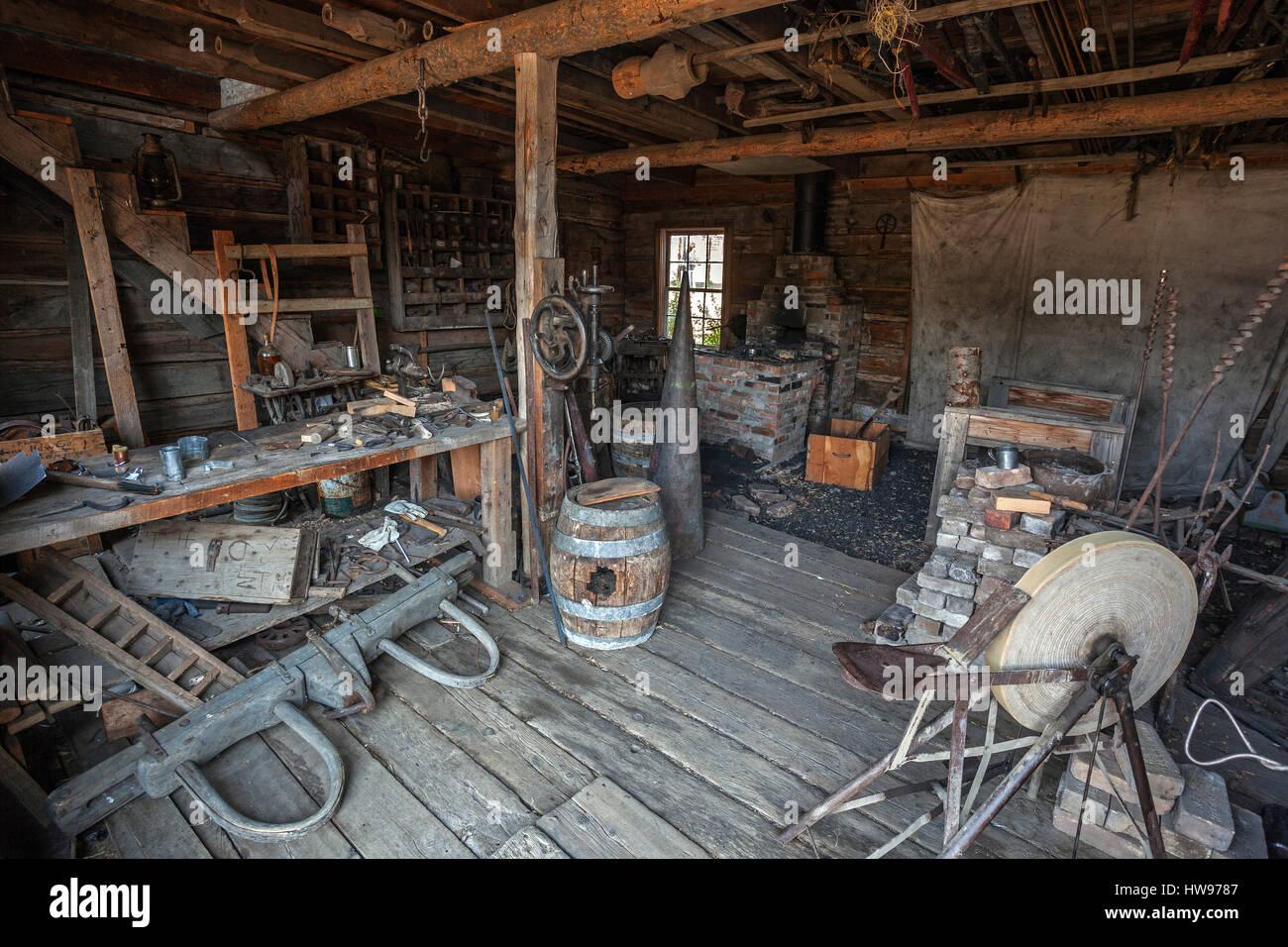 old blacksmith shop stock photos u0026 old blacksmith shop stock