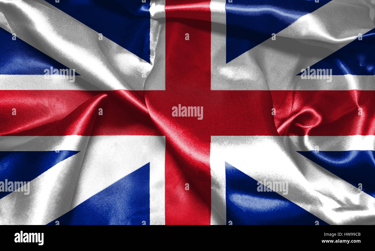 great britain flag king u0027s colours civil and state ensign 3d stock