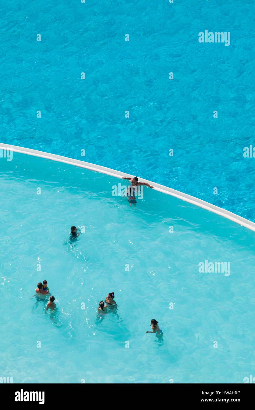 Chile Algarrobo San Alfonso Del Mar World 39 S Largest Man Made Pool Stock Photo Royalty Free