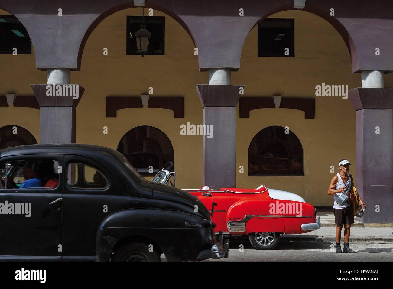 America, Caribbean, Cuba, Havana, listed as World Heritage by ...