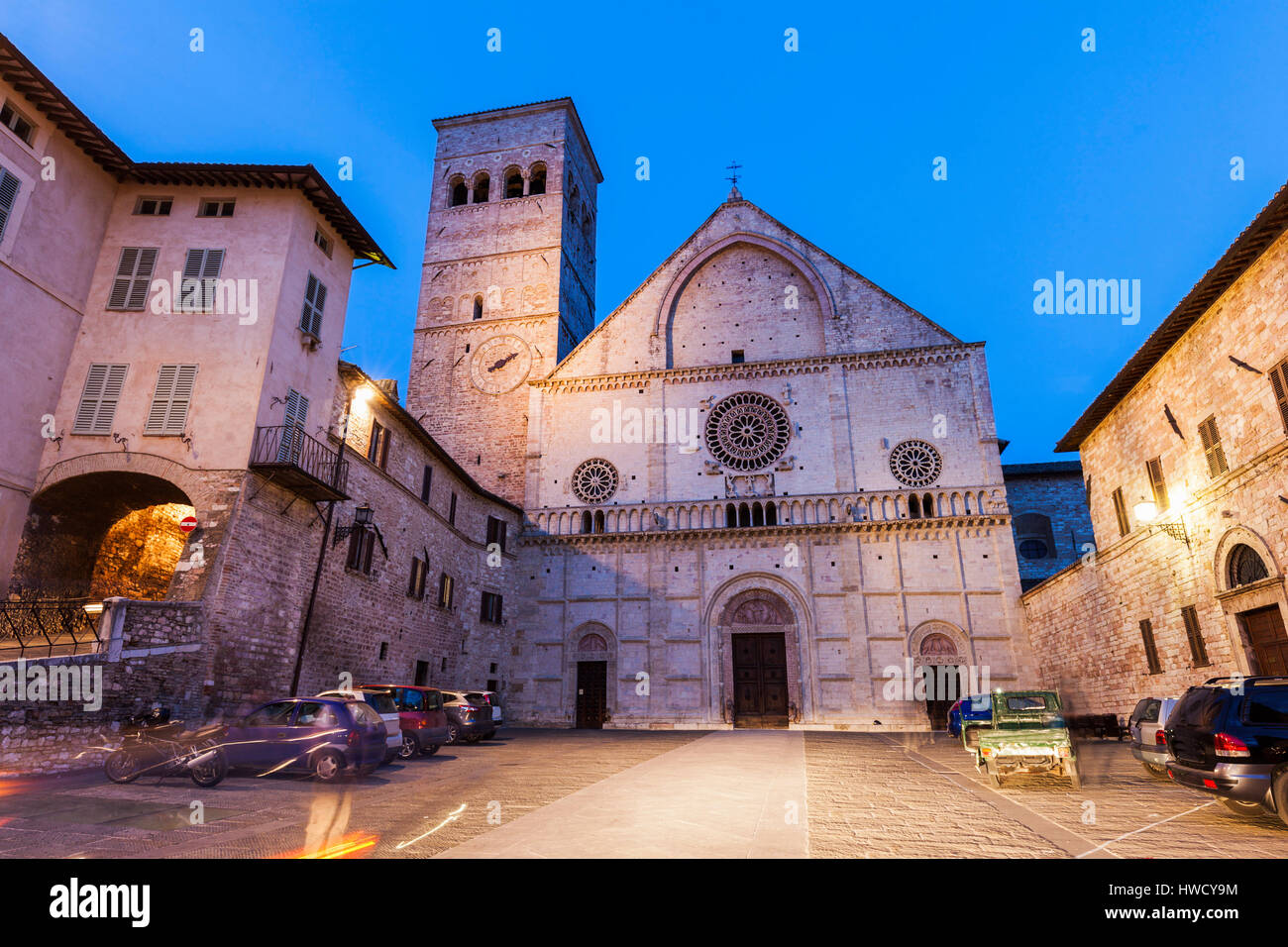 Cathedral Of San Rufino Assisi