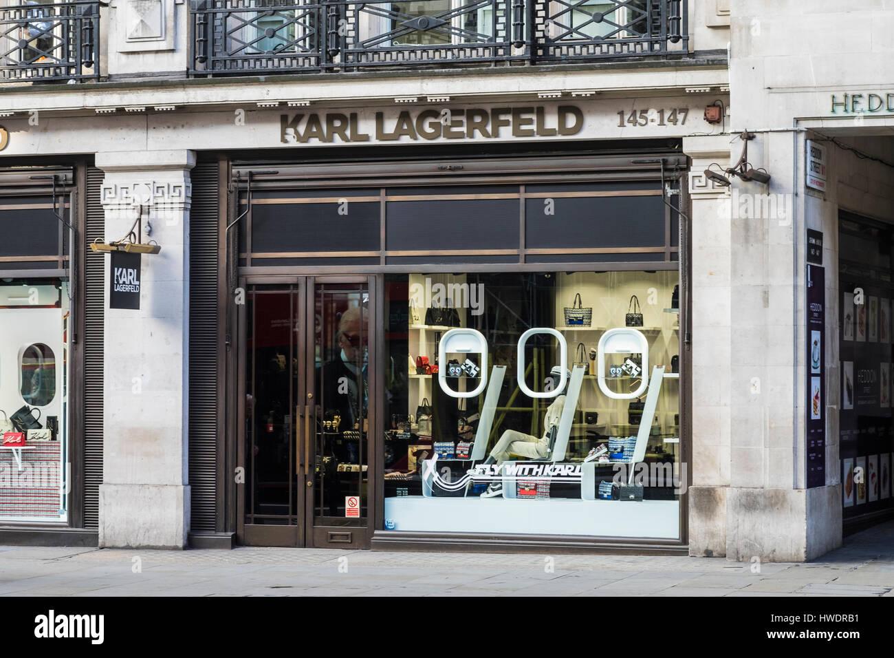 karl lagerfeld store regent street london england u k. Black Bedroom Furniture Sets. Home Design Ideas