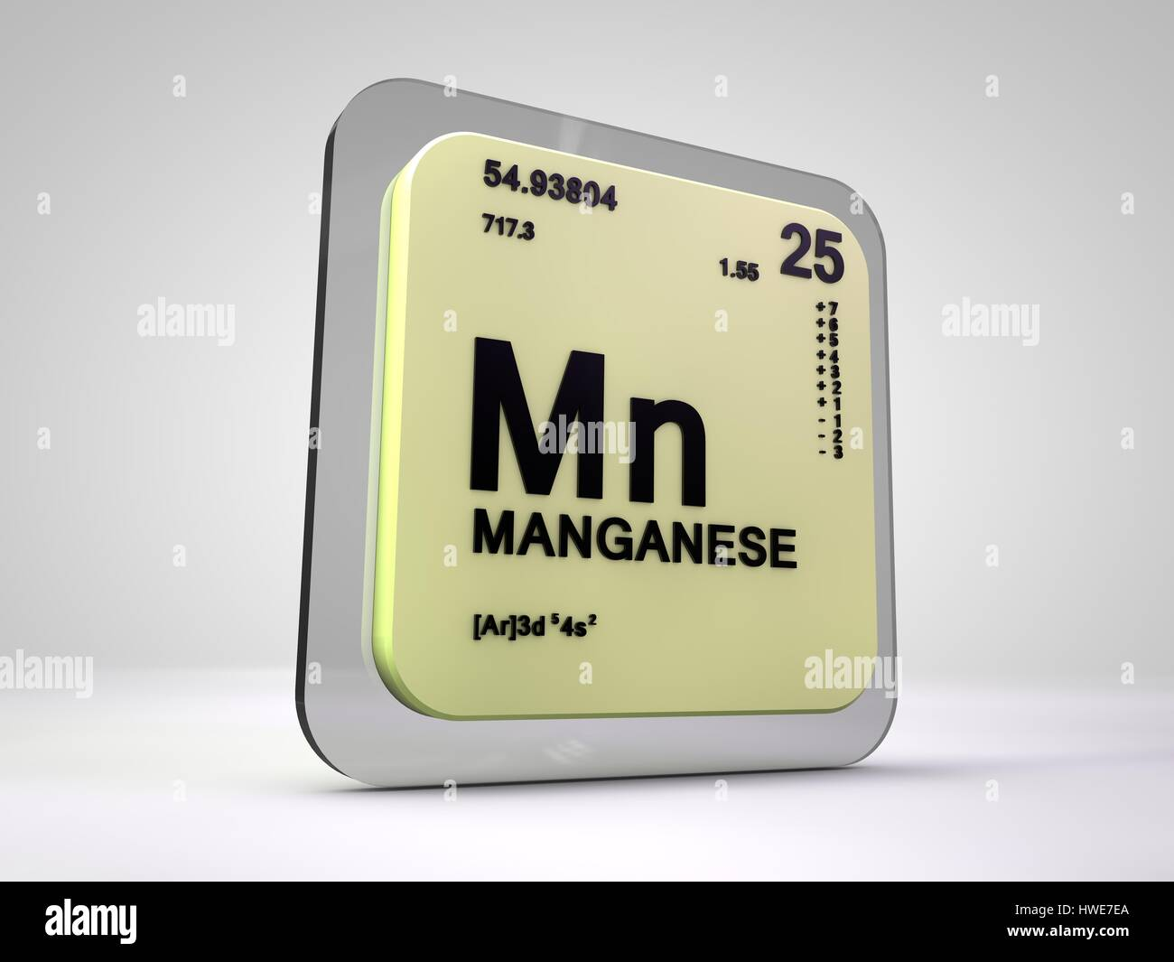 Manganese mn chemical element periodic table 3d render stock manganese mn chemical element periodic table 3d render gamestrikefo Images